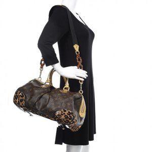 Auth Louis Vuitton Stephen Leopard Bag #N9738V77